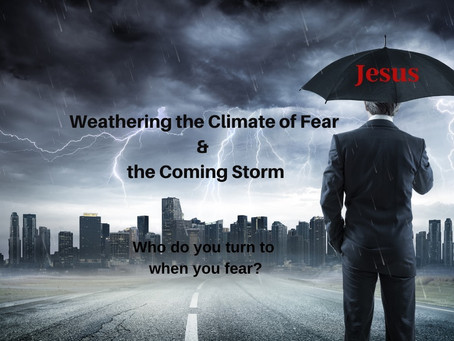 Weathering the Climate of Fear During the Coming Storm