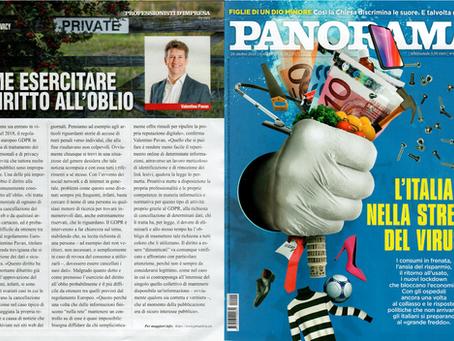 Il settimanale nazionale Panorama ha intervistato il nostro titolare Valentino Pavan