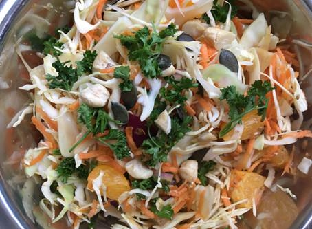 Une salade de chou facile pour l'hiver