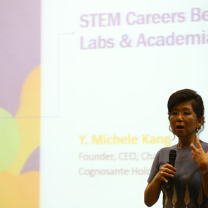 """STEM: Fostering Future Female Leaders"" - Michele Kang"