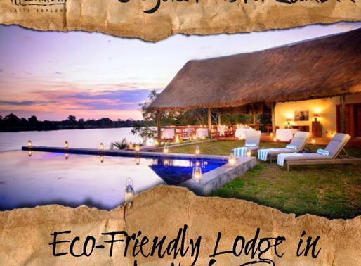 Eco-friendly lodge in Zambia's Kafue