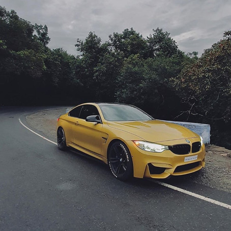 The Yellow Missile BMW M4