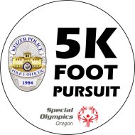 Keizer Police 5k Foot Pursuit Race