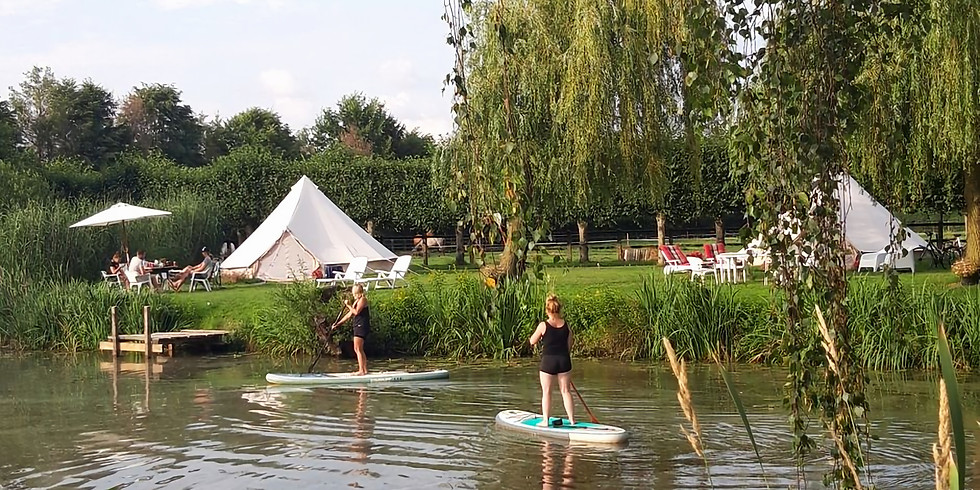 *VOLZET* Try-out SUP-conscious glamping: fun & inspiratie