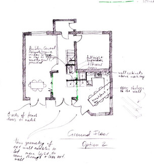 Proposed Extension Floorplan to Create New Space