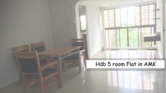 Hdb flat in Ang Mo Kio