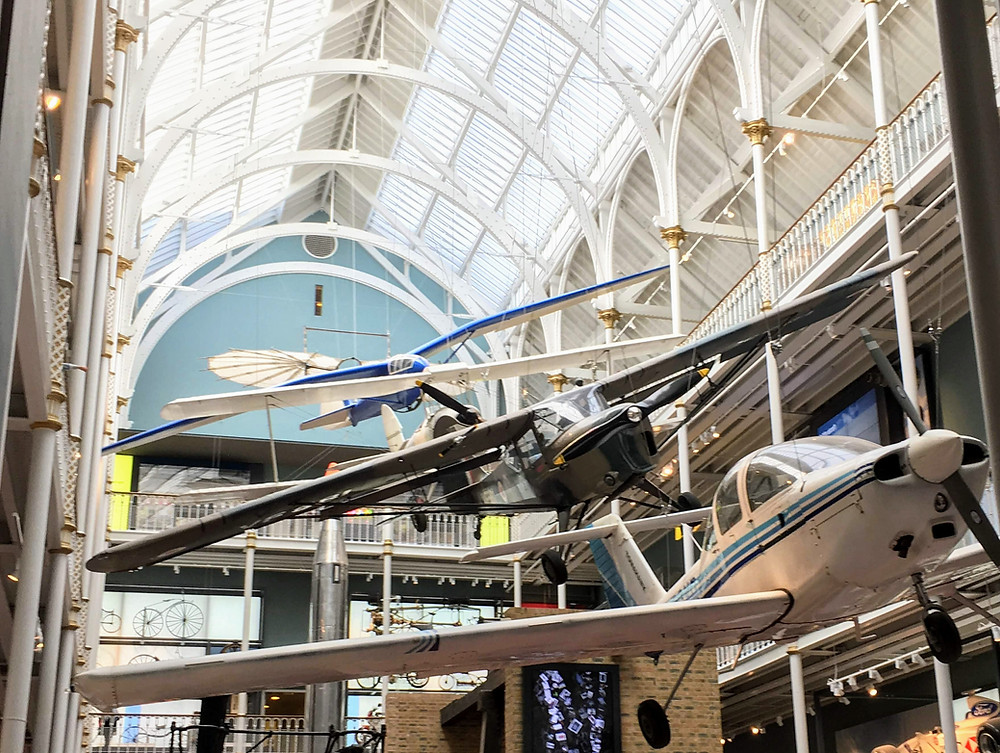 National Museum of Scotland, Edinburgh airplanes