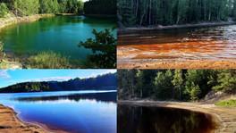 Geopark Babina czyli kolorowe jeziorka