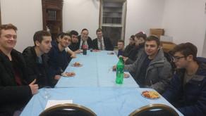 R' Yitzchak Terebelo's teens chaburah @ the Kollel on Tuesdays at 9pm