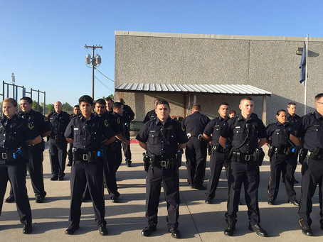 """How a """"perfect storm"""" of problems has shrunk Texas' largest city police forces"""