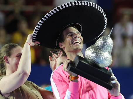 NADAL (ESP) WINS 85TH TITLE IN ACAPULCO