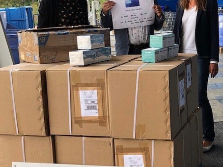 Covid 19 : Santé Droit Société fait un don de 25 000 masques aux plus exposés