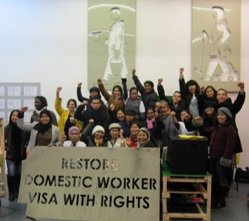 Voice of Domestic Workers calls for an end to slavery in the UK after shocking survey result