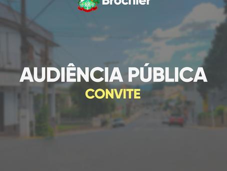 Audiência pública (convite)