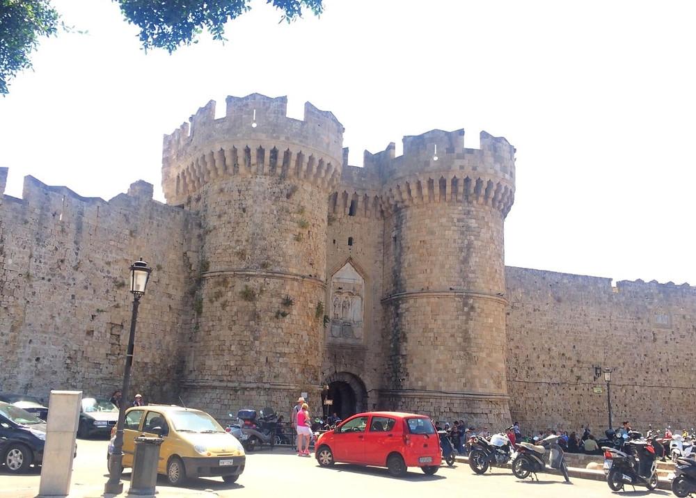 שער המרינה העיר העתיקה רודוס