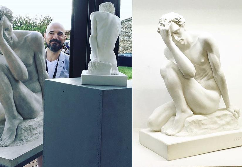 Reproducciones esculturas de Jorge Egea