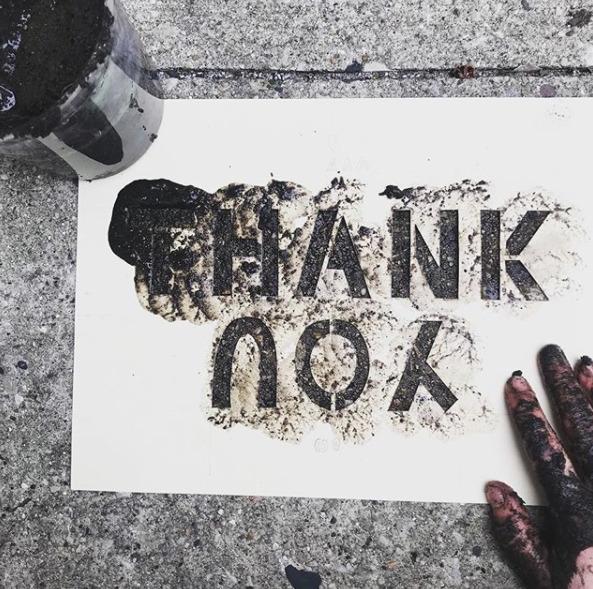 Katie Bril Mud Stencil