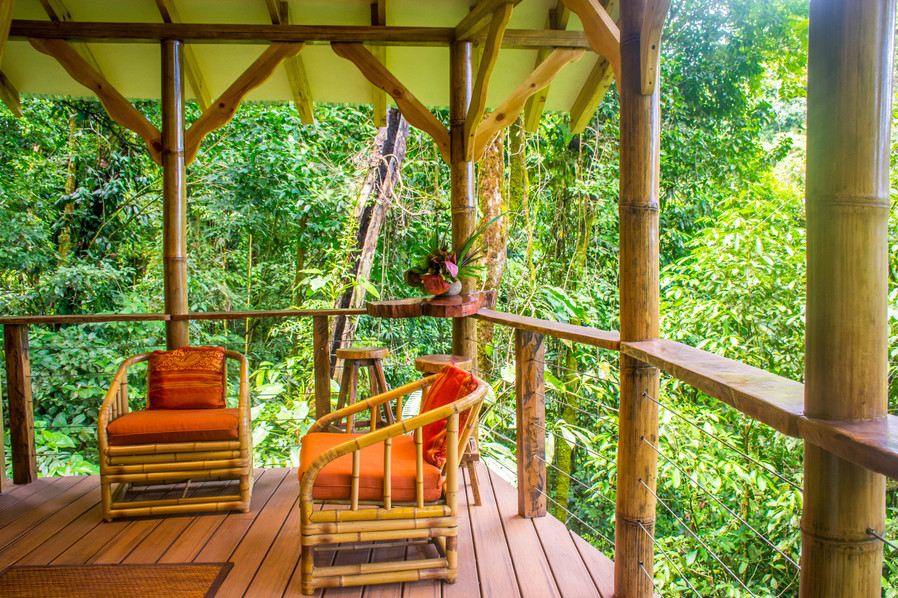 El Fenix outdoor living space