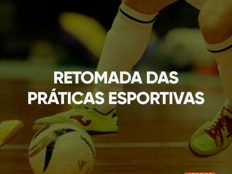 Autorizada reabertura de quadras esportivas para jogos coletivos amadores