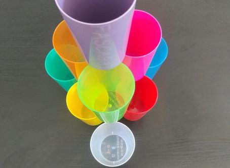 Des gobelets réutilisables pour faire l'apèro entre amis ?