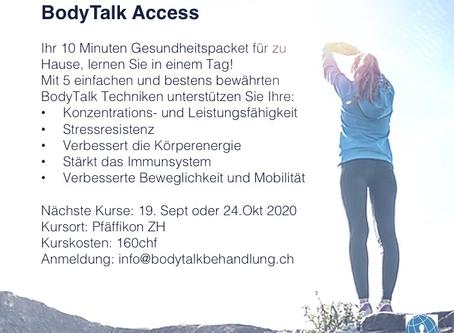 BodyTalk Access - Ihr 10 Minuten Immun- und Gesundheitsbooster für zu Hause