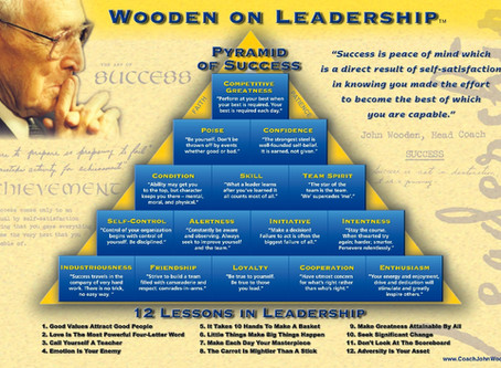John Wooden, Nick Saban, and Eddie Robinson Define Greatness In Leadership