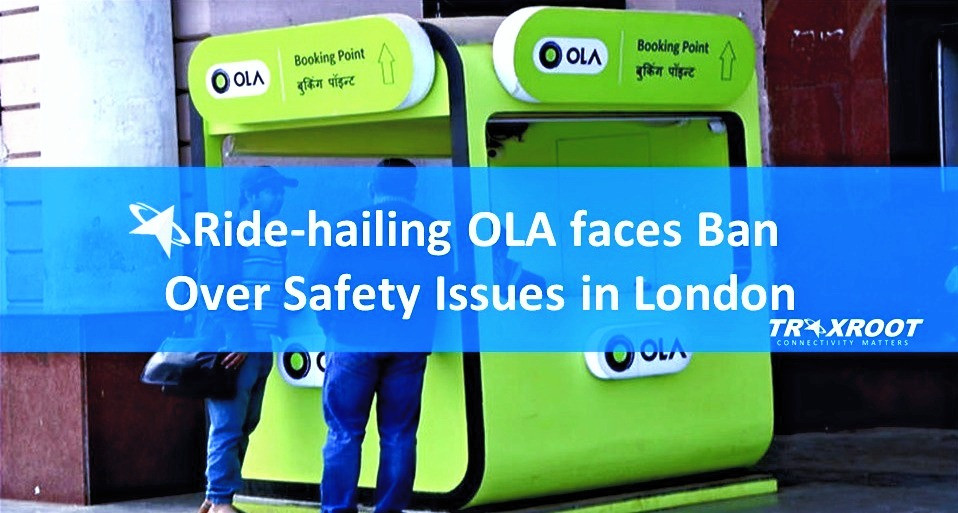 Ride-hailing OLA faces Ban over Safety Issues in London