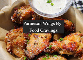 Parmesan Air Fryer Chicken Wings