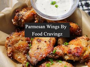 Parmesan Air Fryer Chicken Wings