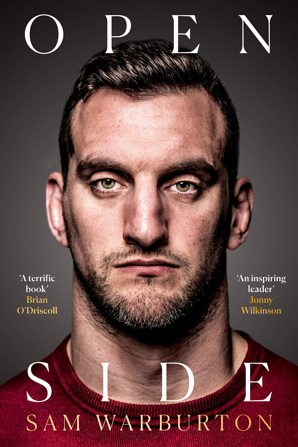Open side by Sam Warburton book cover