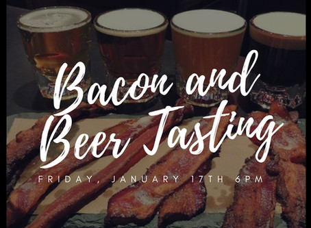 Bacon and Beer Tasting