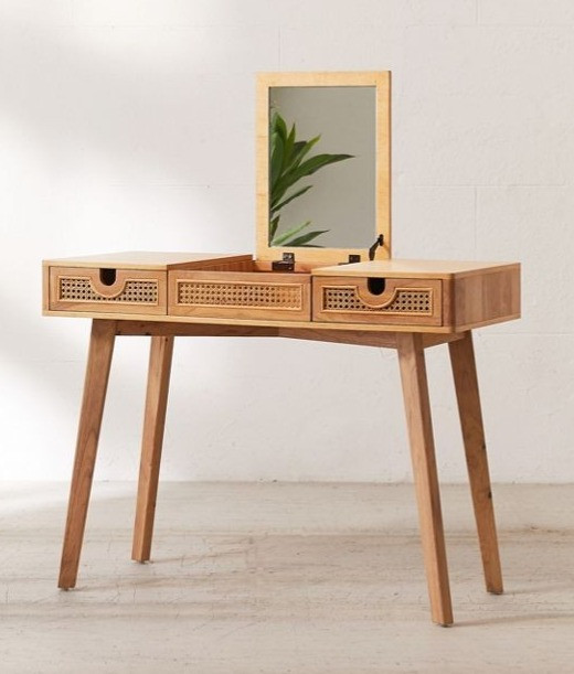 Urban Outfitters Marte Vanity Cane Desk