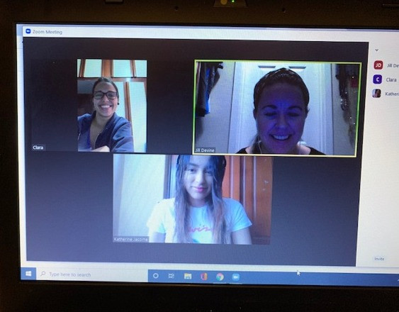 Intern meeting on Zoom