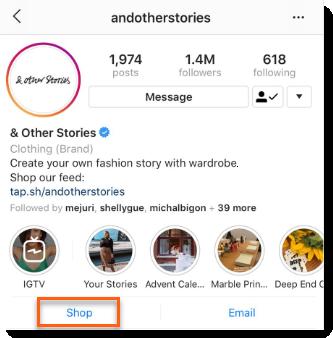 Интеграция Wix и Instagram Shopping