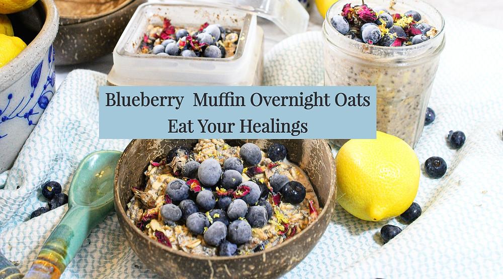 blueberry lemon oatmeal