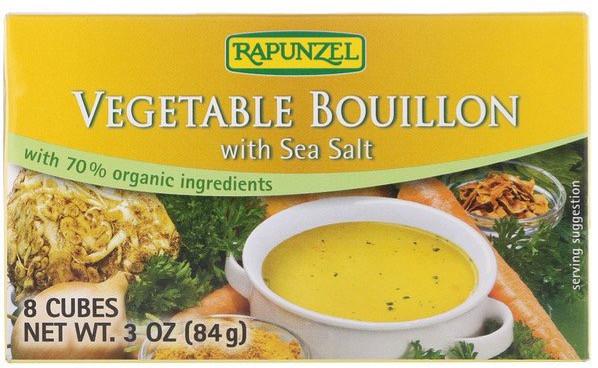 vegetable bouillon cubes