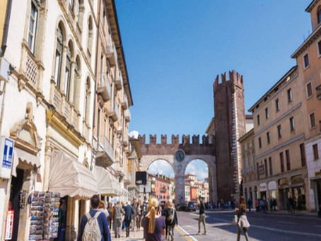 로미오와 줄리엣에 배경,이탈리아 베로나