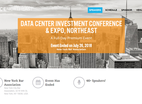 The MCIM Team heads to DICE New York, Data Center Investment Conference & Expo!