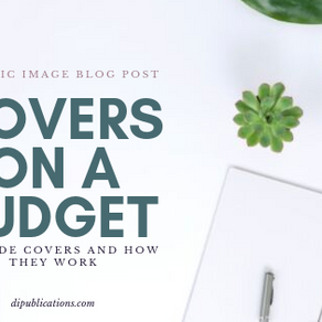 How to find premade book covers.
