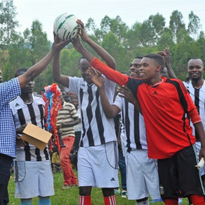 INVOLVE YOUTH WITH FOOTBALL, RWANDA