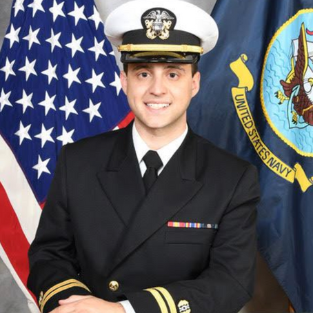 Aiden Stark '09 Litigates for the US Navy