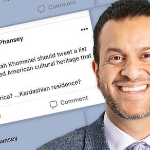 Response to Asheen Phansey's firing after Controversial Facebook Post