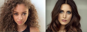 The brunette look vs the Ambiguous look