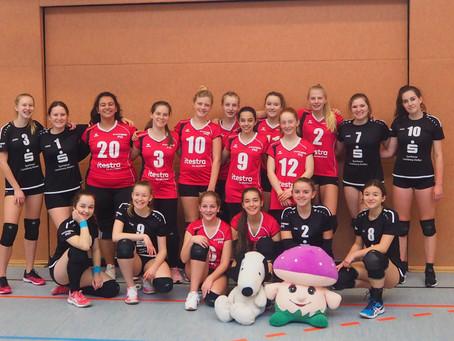 U16 Lechrain Volleys 1 verteidigen Tabellenführung