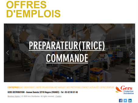 Gers Distribution recrute !