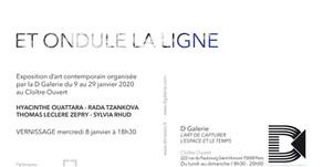 ET ONDULE LA LIGNE / Exposition