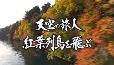 【NHKハイビジョン特集】 天空の旅人 紅葉列島空の旅
