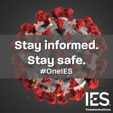 IES Communications - Coronavirus Recommendations
