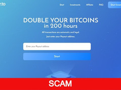 Doubler.to Review (SCAM) : Make Bitcoin Double