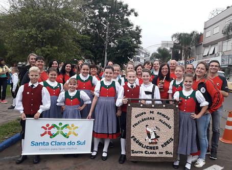 Município sedia festival de danças folclóricas